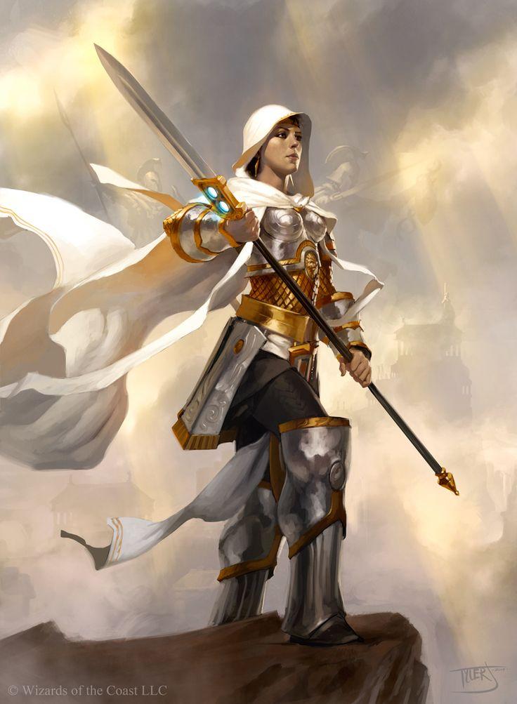 Soldat Awen. Les Awenï sont un des trois peuples Fënid'jä vivant parmi les hommes. Ils sont pour la plupart blonds, de haute stature et ont les traits du visage anguleux. Les soldats sont armés de lances.