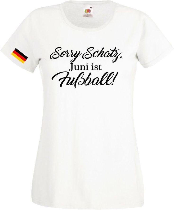 Wm Swag Sorry Em Shirt Deutschland Fun Schatz T Fußball Damen uPkXZiO