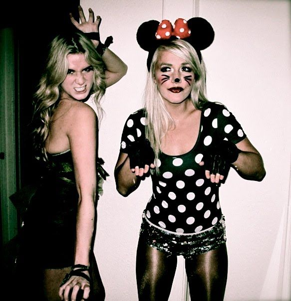 easy diy costumes for women bff tayler layne in her