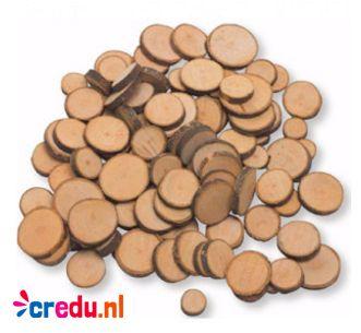 1 KG Houtschijven http://credu.nl/product/houtschijven/