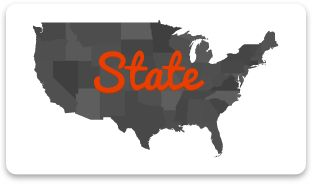 Find restaurants by State that have been featured on food TV shows - Great when visiting new places!