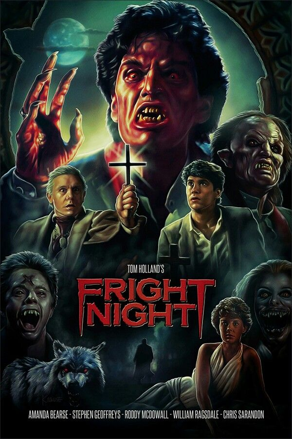 Ah, my favorite campy 80's horror movie!  Welcome to Fright Night...for real! Gotta love Jerry!