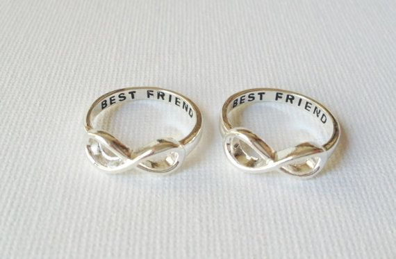 Get them (and yourself!) a set of Best Friends for Infinity rings: | 10 Little Ways To Show Your BFF They're Truly The Best
