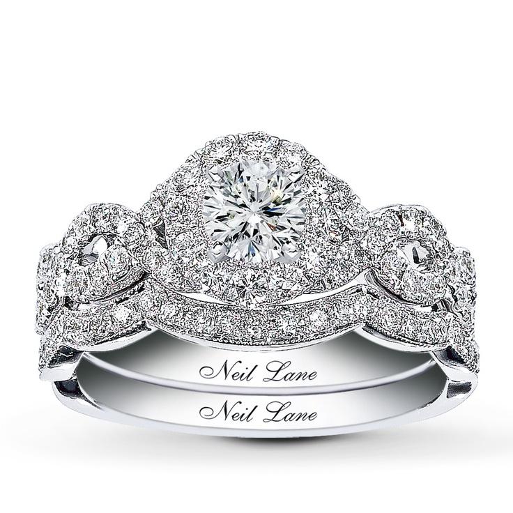2- piece bridal setting