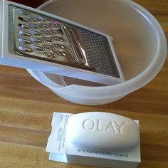 Made from Home Daily...diy body wash from a bar of soap.