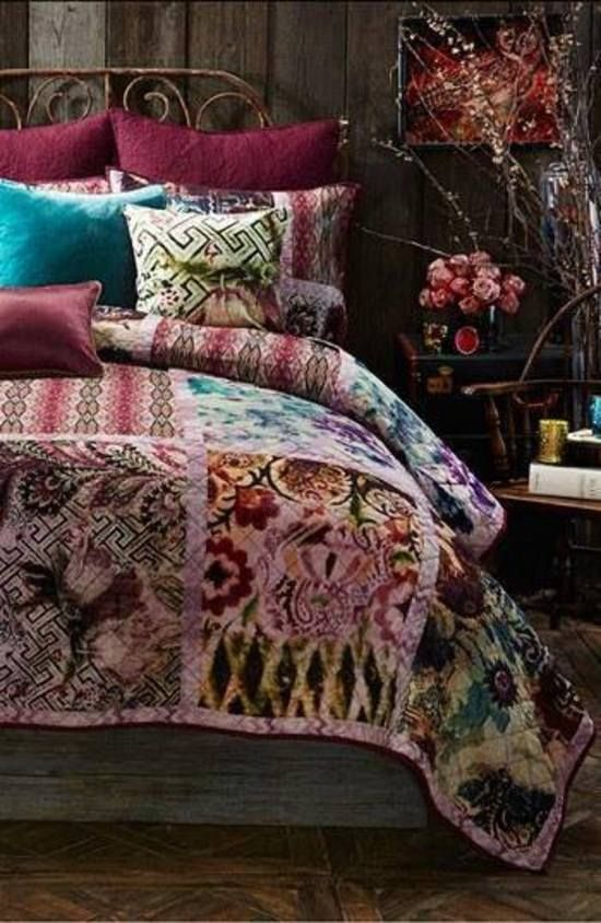have beautiful remnants... make gorgeous blankets. just the simplest of patterns bound with the simplest of strips. fantastic.