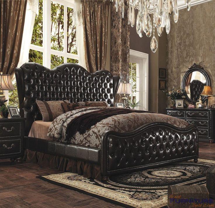 Acme Furniture Varada California King Size Panel Wing