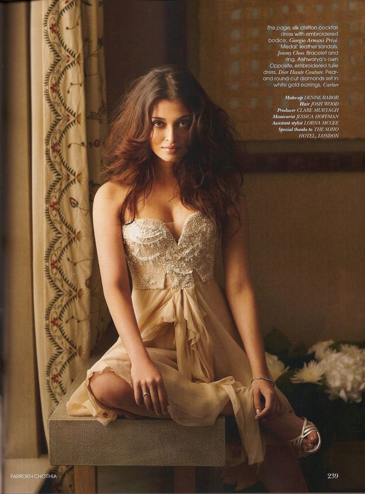 Aishwarya Rai - Vogue India Magazine October 2008 | Photo 4 | Celebrity Photo Gallery | Vettri.Net