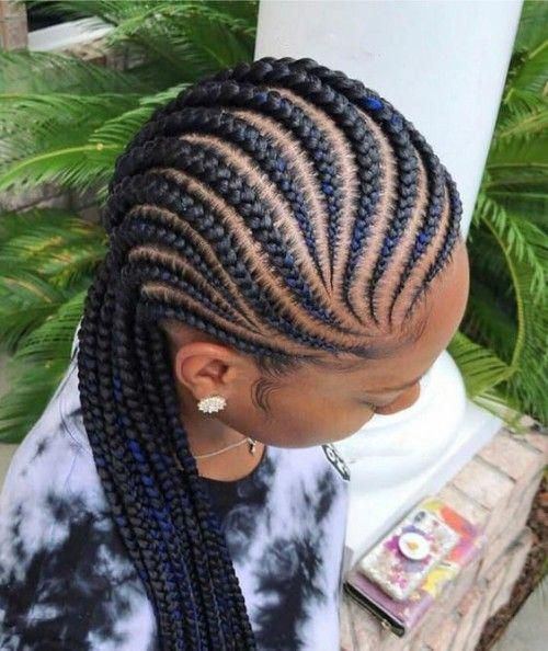 2019 BRAIDED CORNROWS HAIRSTYLES #Braidedstyles