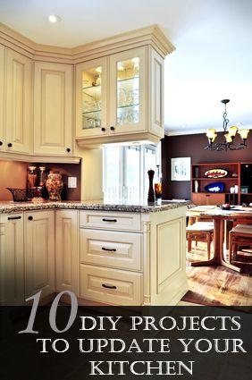 361 best images about kitchen redo ideas on pinterest for Modern kitchen updates