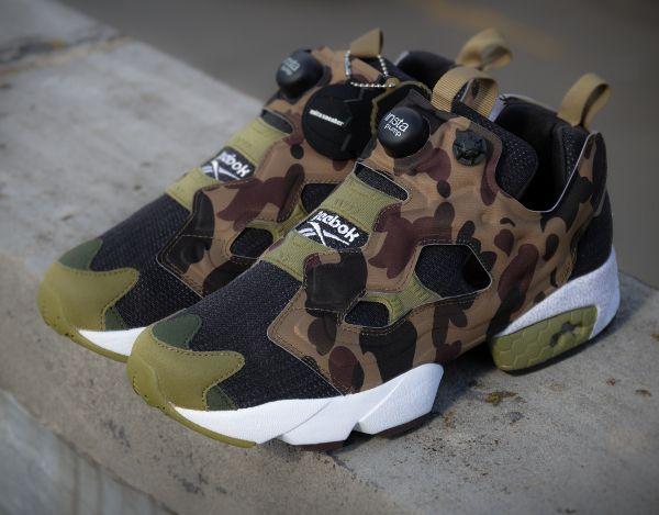 ee6175ccc7489 ... Reebok Insta Pump Fury x Mita Sneakers x A Bathing Ape   Sneakers D    Pinterest ...