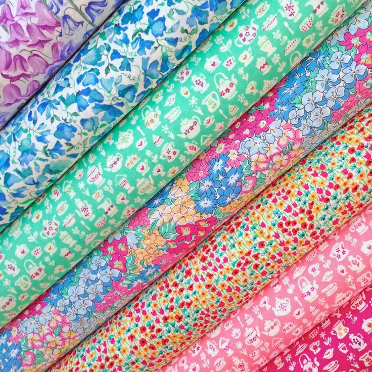 Lovely Liberty scraps selection from the new Alice in Wonderland collection.
