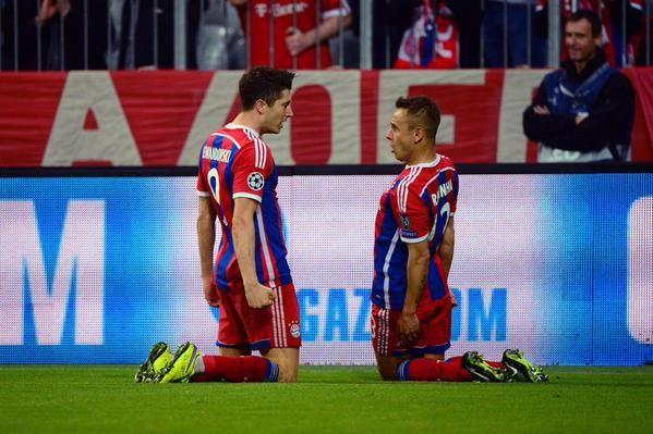 Bayern Monaco mostruoso in Champions League
