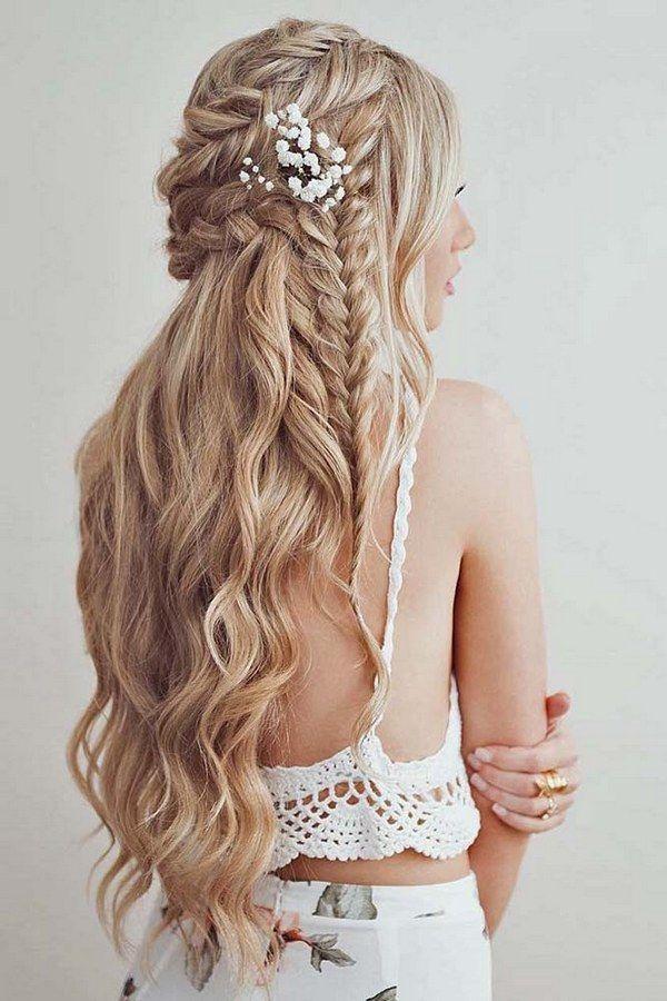 la mitad de la mitad hacia abajo peinados de novia a través de emmas_parlour