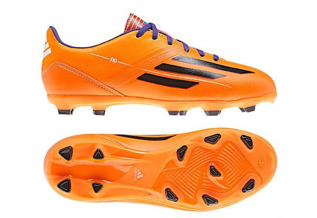 adidas F 10 SP World Cup WC 2014 TRX FG Soccer Shoes Orange Black KIDS YOUTH.