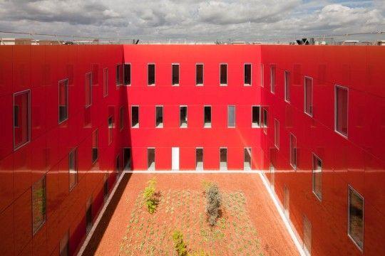 Centre hospitalier de Marne-la-Vallée, Jossigny, Brunet Saunier - Realisation
