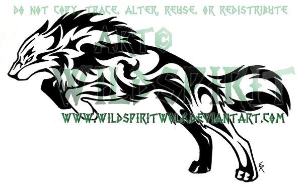 Tribal Determination Tattoo by WildSpiritWolf on DeviantArt