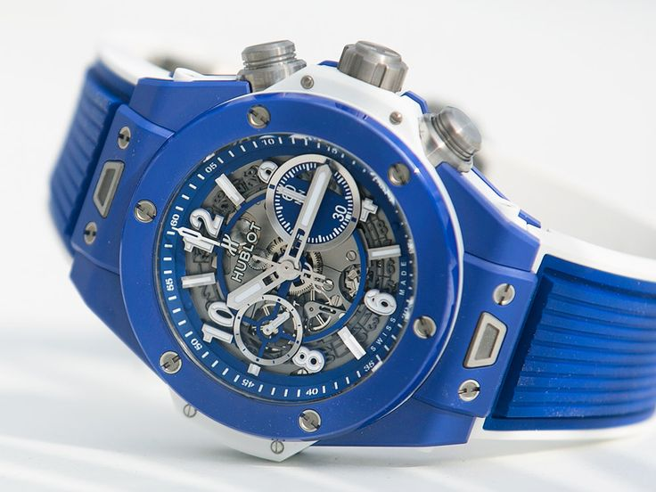 The new Hublot Big Bang Blue watch with images, price, background, specs, & our expert analysis.