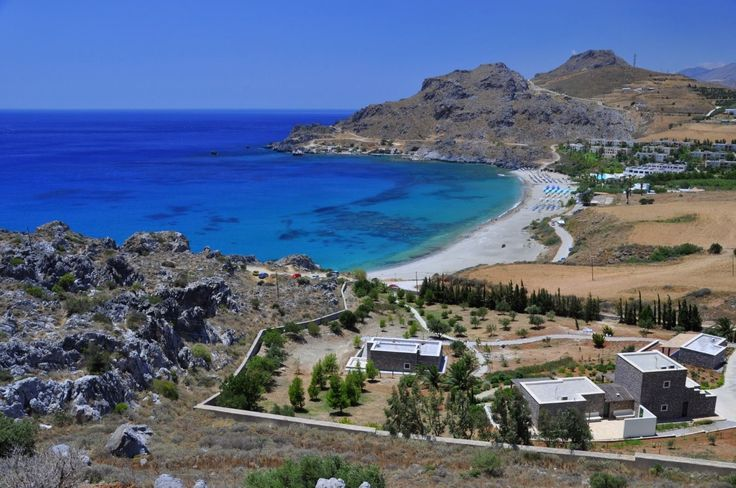 The beach of Damnoni on the south coast of Rethymno, Crete. https://www.facebook.com/SentidoPearlBeach/photos/pb.183158851731783.-2207520000.1446482838./867285616652433/?type=3