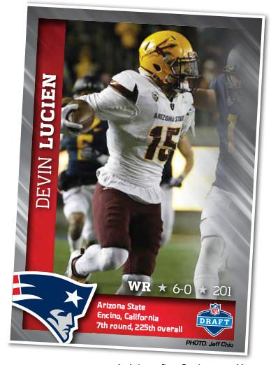 Patriots Football Weekly shares their draft profile on WR Devin Lucien.