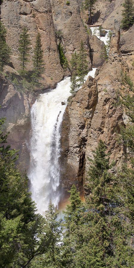 Tower Falls of Yellowstone National Park - Wyoming - USA