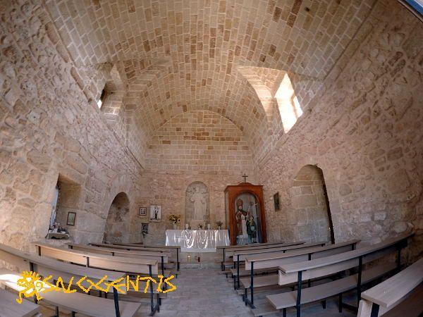 Chiesa di San Lasi (San Biagio), Salve, interno