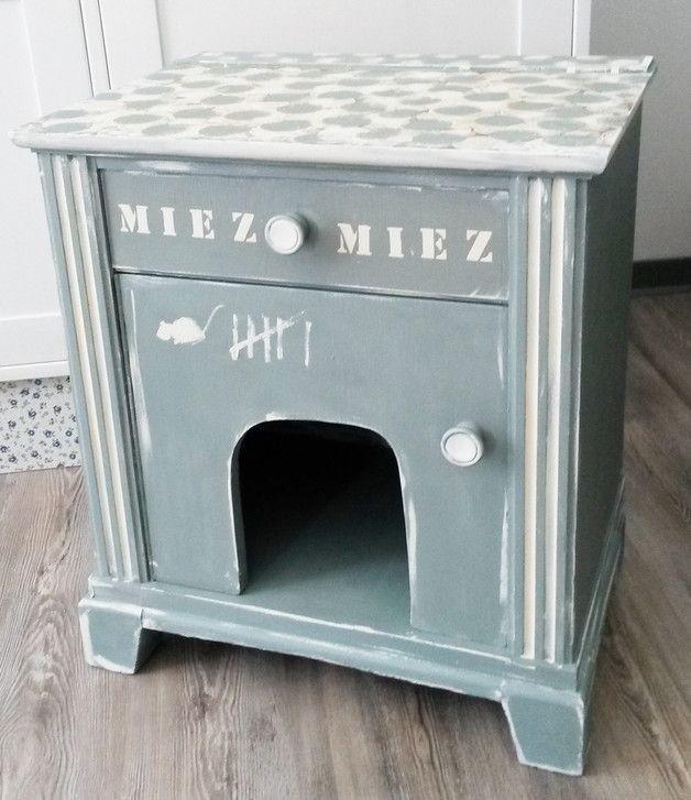 bildergebnis f r katzenschrank selber bauen inredning pinterest pet beds dog beds and cat. Black Bedroom Furniture Sets. Home Design Ideas