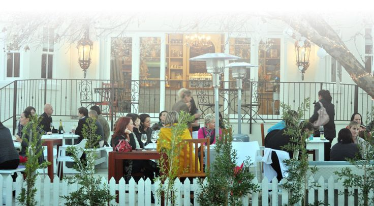 Our Place in Durbanville has an awesome outdoor dining area under the huge old tree and perfect play area for the kids.