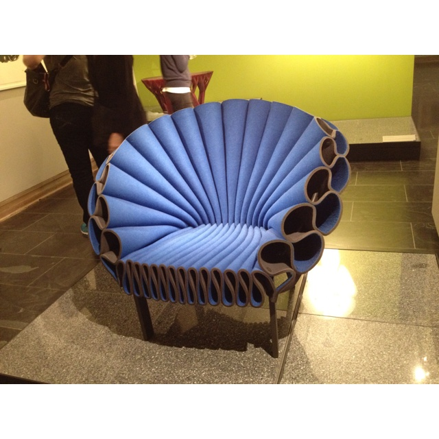 This is the perfect chair! :)  MOMA, NY