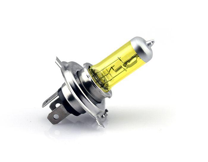 10 шт. 12 В H4 130 Вт Высокие Яркие Галогенные Лампы желтый фар лампы Светильника Света Автомобиля 12 В Бесплатная доставка