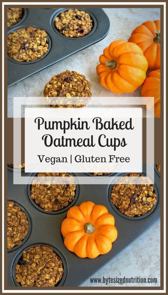 Baked Oatmeal With Pumpkin And Bananas Recipe — Dishmaps