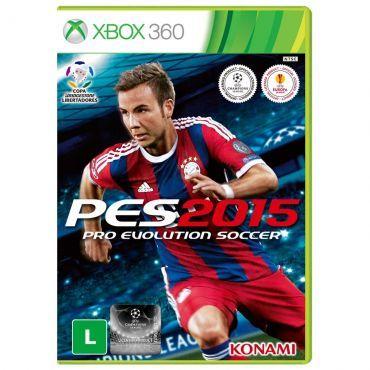 [O dono é o Ricardo] Jogo Pro Evolution Soccer 2015 (PES 15) para Xbox 360 28,40