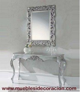 Espejo Barroco Tallado 0043 del catálogo de Mueblesidecoracion. Consulte nuestro catálogo completo haciendo click http://www.mueblesidecoracion.com/41-espejos