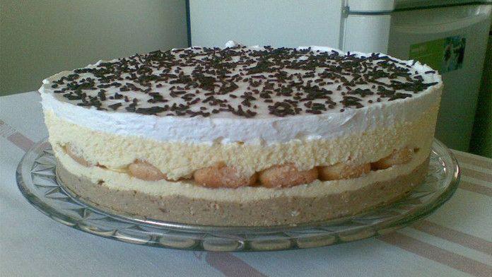 Famózna piškótová torta s gaštanovým pyré pripravená bez pečenia! Táto torta je priamo luxusná! - Báječná vareška