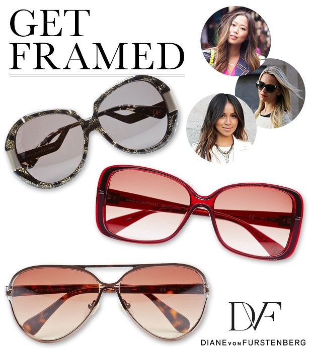 Stock Up On The Latest Sunglasses from DVF
