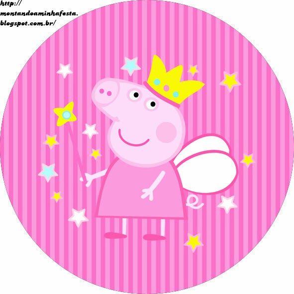 Montando a minha festa: Peppa Pig Princess