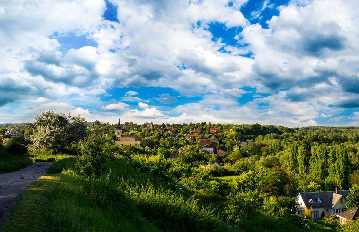 Green Hills - The old town of Dunaújváros, Hungary.