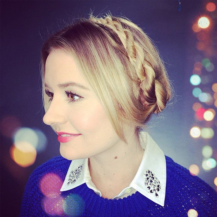 Put a Twist on the Classic Milkmaid Braid: Milkmaid braids are making a comeback, and we were recently inspired by Nicole Richie's twisted crown.
