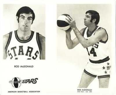 ROD McDONALD VINTAGE 1970-71 UTAH STARS ABA 8X10 PHOTO . $35.00. ROD McDONALD VINTAGE ORIGINAL 1970-71 UTAH STARS ABA 8X10 PHOTO DESCRIPTION: ROD McDONALD VINTAGE (CIRCA 1970-1971) ORIGINAL UTAH STARS ABA (AMERICAN BASKETBALL ASSOCIATION) 8X10 PHOTO. PHOTO IS FROM A RECENT FIND AND IS IN VERY NICE CONDITION. ITEM PICTURED IS ACTUAL ITEM BUYER WILL RECEIVE. CLICK ON PHOTOS FOR CLEARER AND LARGER IMAGES. GREAT, AUTHENTIC BASKETBALL COLLECTIBLE!!! Shipping & Payment: