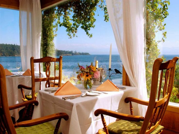 Best resorts for foodies:  18. SOOKE HARBOUR HOUSE  Vancouver Island, British Columbia, Canada    Food score: 95.5    Restaurants: 1    Rooms: 28    Signature dish: Sooke Bay Dungeness crab ($29).    Don't miss: Hedgehog, puffball, shrimp, honey, gypsy, deer, pig's ear, candy cap, shaggy mane, and other mushrooms gathered by the chefs.    (Entrées from $25)