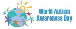 Don't forget to wear blue on April 2nd. Remember to always be understanding!