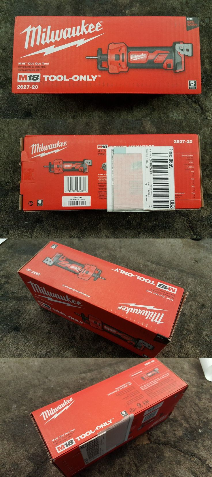 Rotary Tools 177003: *New* Milwaukee M18™ Cut Out Tool (Tool Only) 2627-20 -> BUY IT NOW ONLY: $79.95 on eBay!