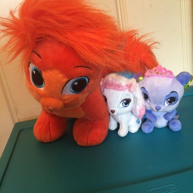 3 Palace Pets Ariel S Treasure Build A Bear Mulan S Blossom