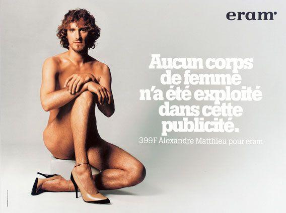 « Aucun corps de femme n'a été exploité dans cette publicité » ERAM
