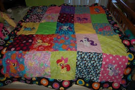 My little pony Friendship is magic quilt
