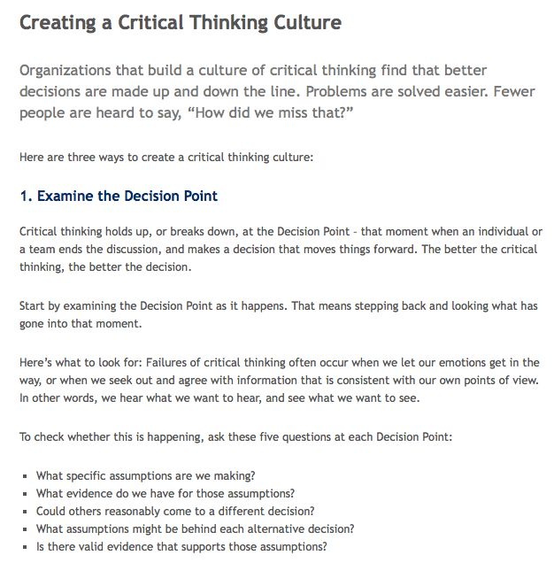 11 best critical thinking and problem solving toolkit images on creating a critical thinking culture httpthinkwatson fandeluxe Choice Image