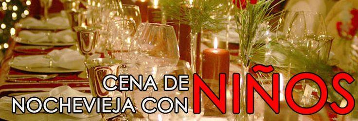 Niños en la cena nochevieja Madrid