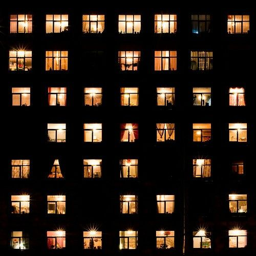 #windows #night #lights