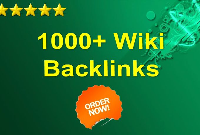 skyROCKET your website with 1000+ wiki backlinks for $5