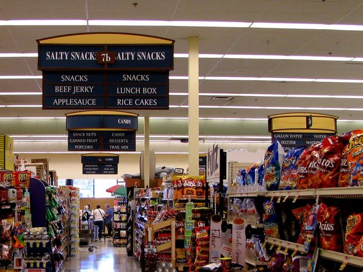 Supermarket Aisle Signs | Pics | Download |